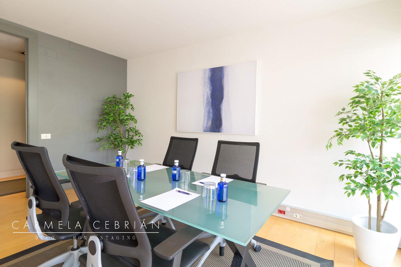 home staging renovar la oficina en sala de reuniones Barcelona Carmela Cebrián